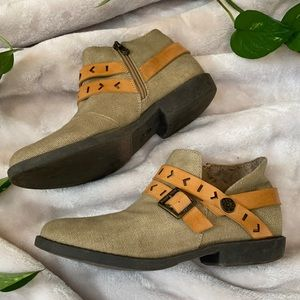 Blowfish Canvas Ankle Booties